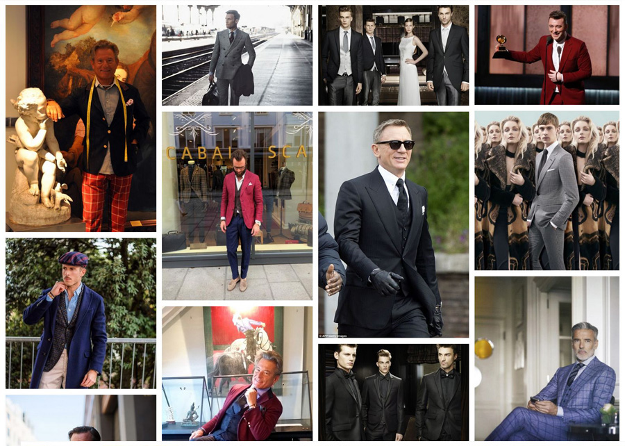 Fotos de trajes hombre en la Inspiration Gallery