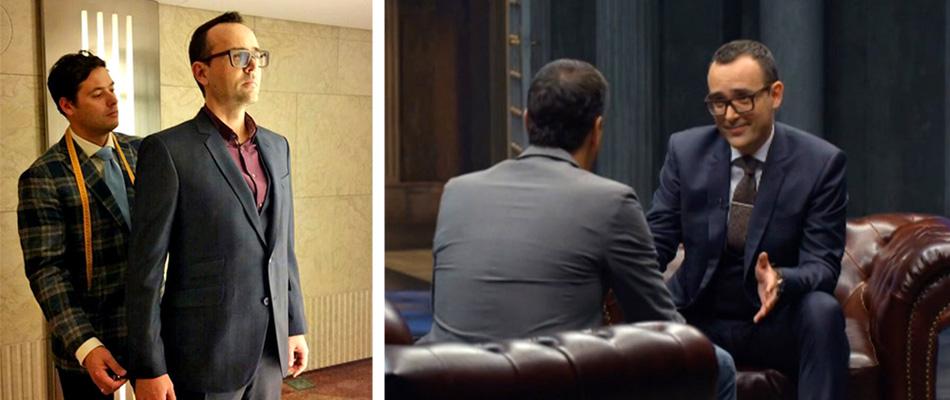 Risto Mejide confía en trajes a medida Exquisuits