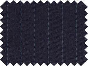 Diplomático azul raya azul
