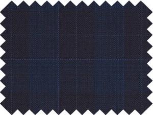 Marino cuadro azul