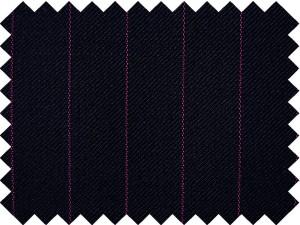 Diplomático fondo azul con raya rosa