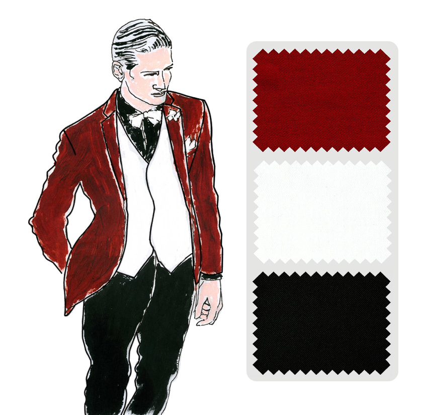 Look Colección trajes a medida Ceremonia Exquisuits