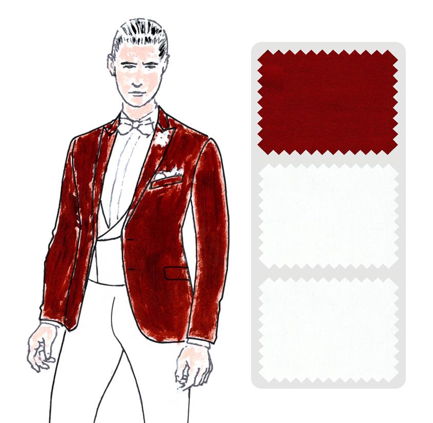 Look 2 Colección trajes a medida Ceremonia Exquisuits