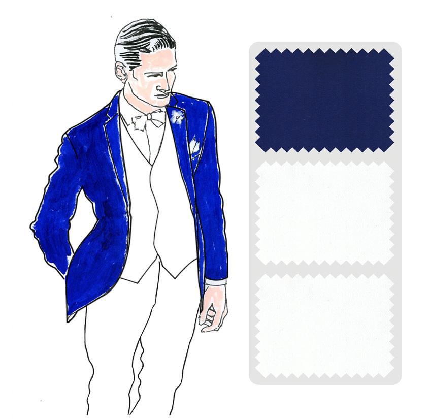 Look 5 Colección trajes a medida Ceremonia Exquisuits