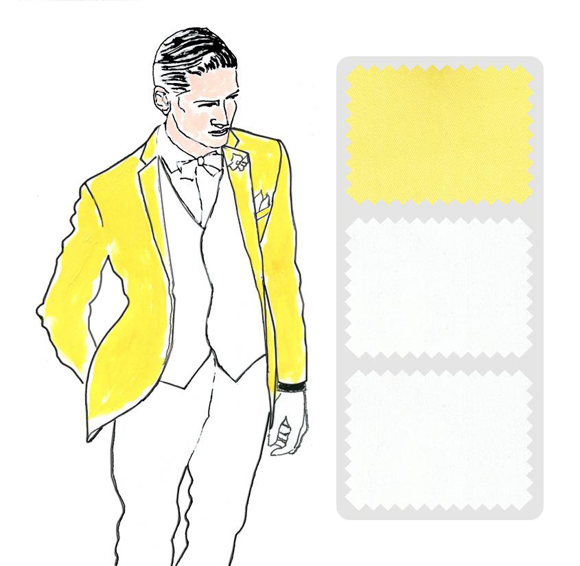 Look 6 Colección trajes a medida Ceremonia Exquisuits