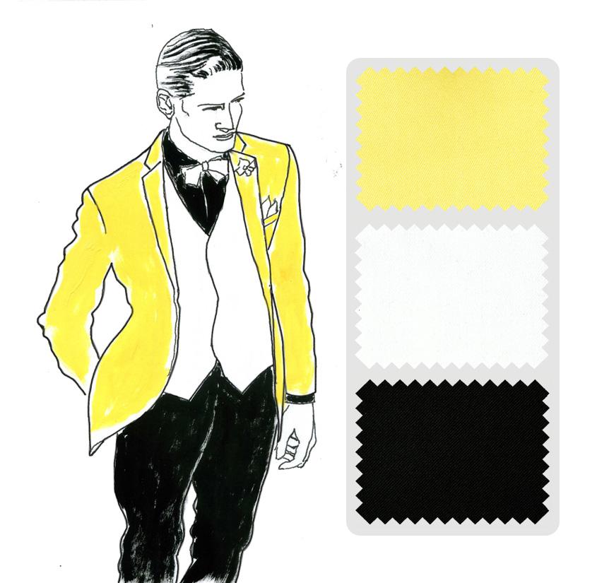 Look 7 Colección trajes a medida Ceremonia Exquisuits