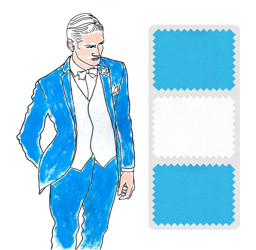 Look 8 Colección trajes a medida Ceremonia Exquisuits