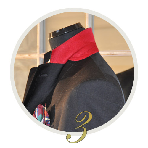 Customize details for your suit or jacket  - Exquisuits tailored suits online