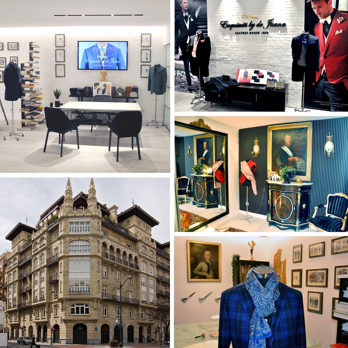 Nueva Sastrería Exquisuits by de Juana en Gran Vía, 45 Edificio Sota Bilbao