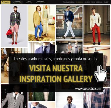 Click para acceder a la Inspiration gallery - moda masculina Xelectia