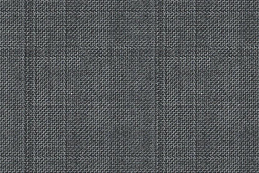 Imagen del tejido gris cuadro ventana de Dormeuil